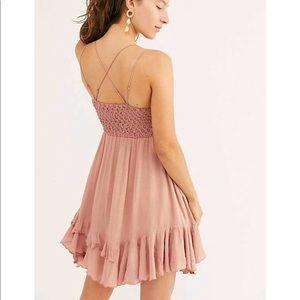Free People Dresses - NWT Free People Rose Adella Slip Mini Dress